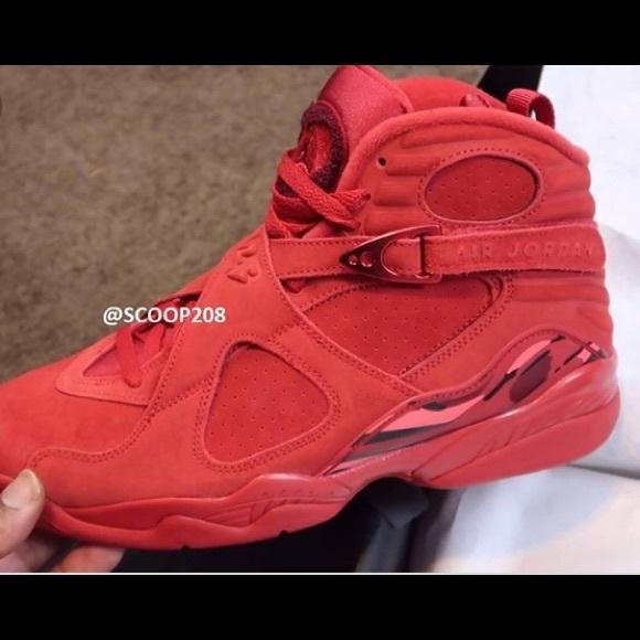 Jordan Shoes | Valintines Day 8s | Poshmark